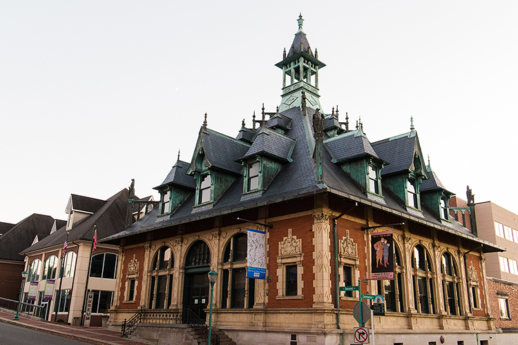 The Customs House Museum & Cultural Center sits at the corner of S. Second Street and Commerce.